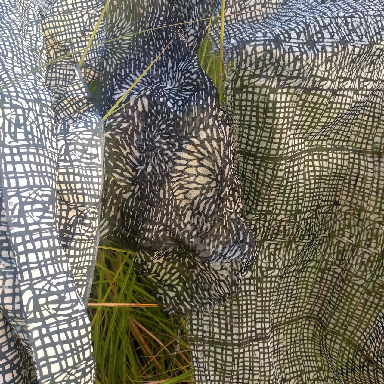 SD work Silks and reeds