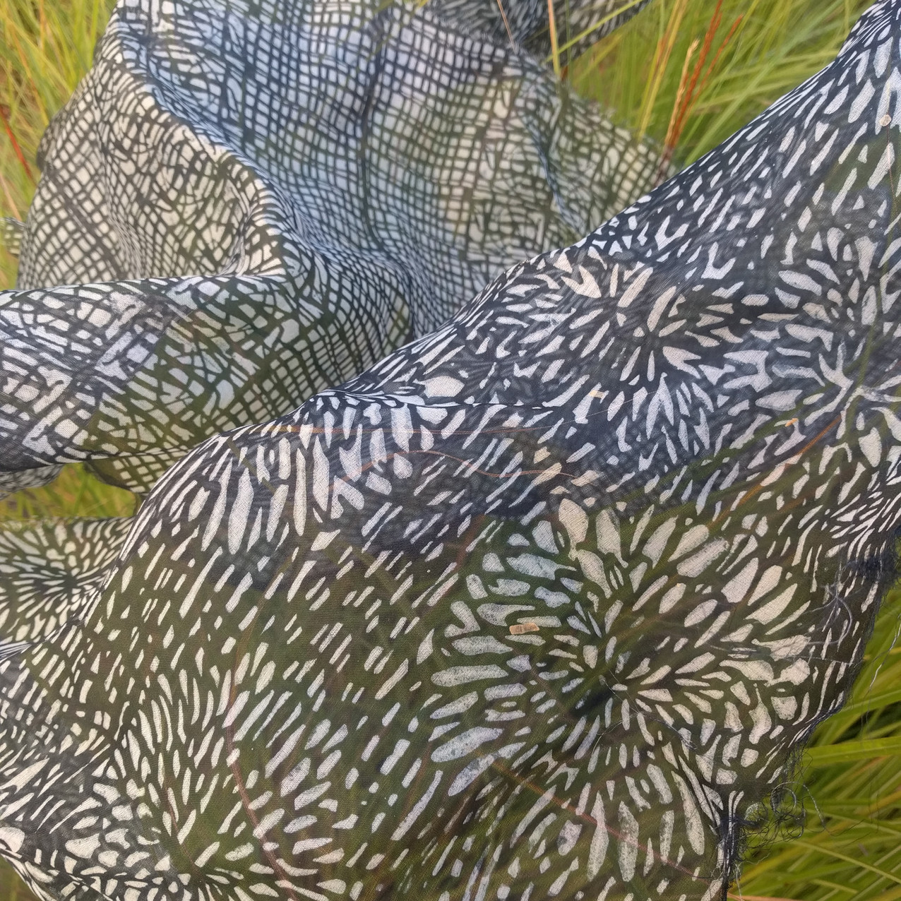 SD work Silk and reeds 4