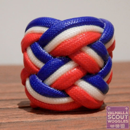 UK Large Paracord Scout Woggle
