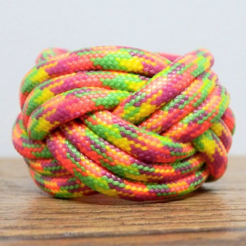 Starburst Small Paracord Scout Woggle