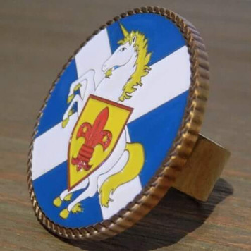 Scottish Scouting Scout Woggle