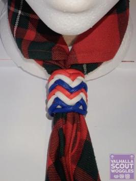 UK Herringbone Scout Woggle
