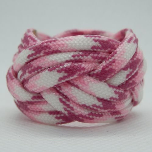 Breast Cancer Awareness Small Paracord Woggle