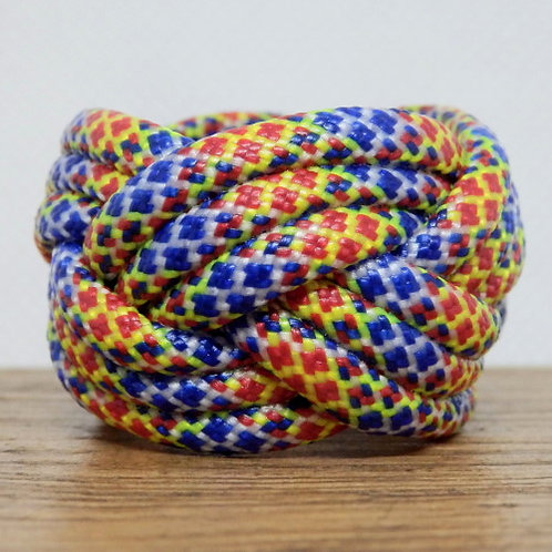 Joker Diamonds Small Paracord Scout Woggle
