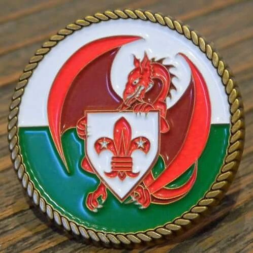 Welsh Scouting Scout Woggles