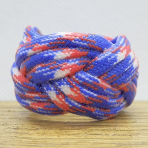 UK Camo Small Paracord Scout Woggle