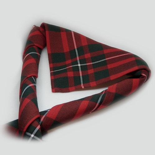 Youth's Red MacGregor (Modern) Tartan Scout Necker
