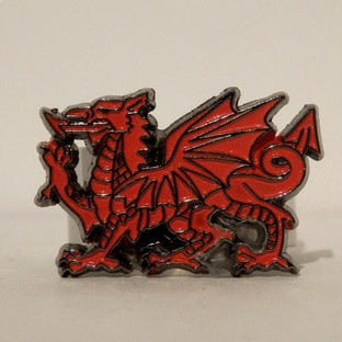 Welsh Dragon Scout Woggle
