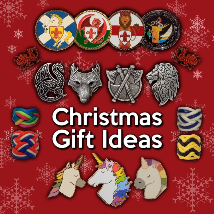 Valhalla Scout Woggles - Christmas Gift Ideas