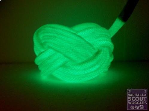 Green Luminescent Turks Head Scout Woggles