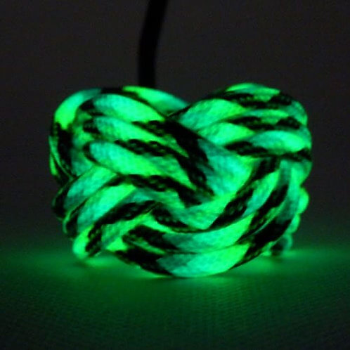 Gecko Luminescent Turks Head Scout Woggles