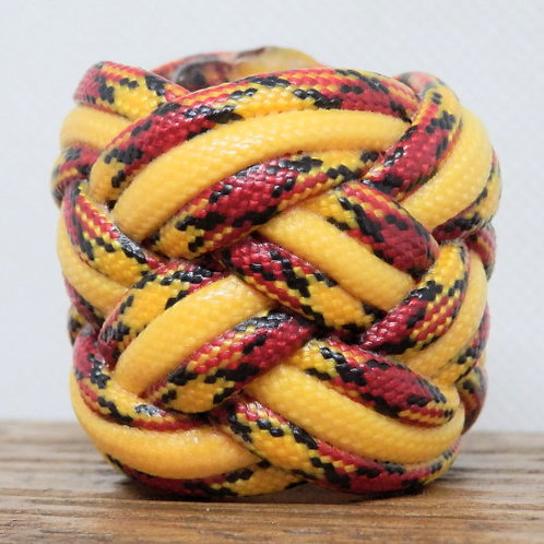 Marines and Gold Large Paracord Scout Woggle
