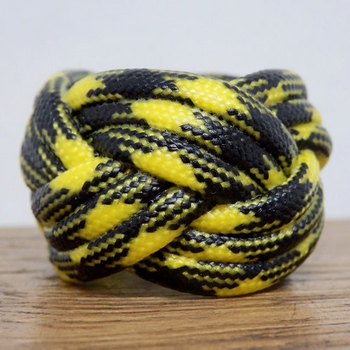 Bumble Bee Small Paracord Scout Woggle