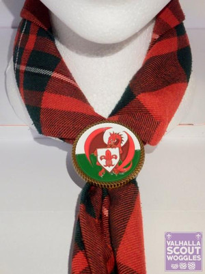 Welsh Scouting Scout Woggle