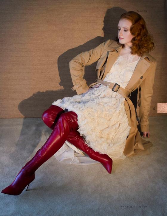 Elegant Magazine   Spot Light Nude   January 2018