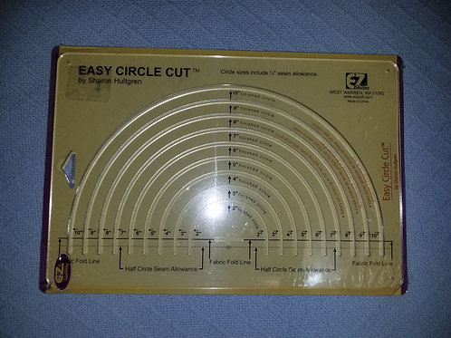 Test Only Easy Circle Cut Ruler