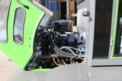 Vue moteur Série T