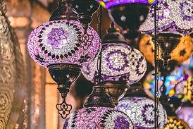moroccan-or-turkish-mosaic-lamps-and-lan