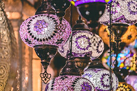 moroccan-or-turkish-mosaic-lamps-and-lan