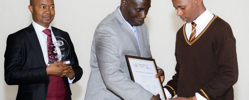 Vuwani High School Award.jpg