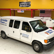 Custom Graphics installed on 2 Vans for Invisible Fence of Eastern North Carolina.jpg