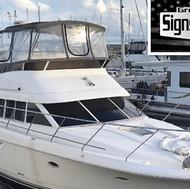 Beautiful Yacht tinted by _greenvillesignsandtint in New Bern, NC with #SuntekCarbonBlack _suntekfilms #suntek #tintlife😎🤙 #yacht #yachtlife