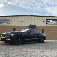 Ford Mustang, Tinted & Wheels Powder Coated