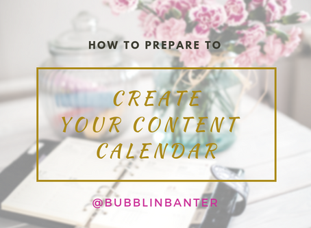 How to Prep to Build Your Content Calendar?