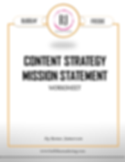 Content Strategy Mission Statement_Cover