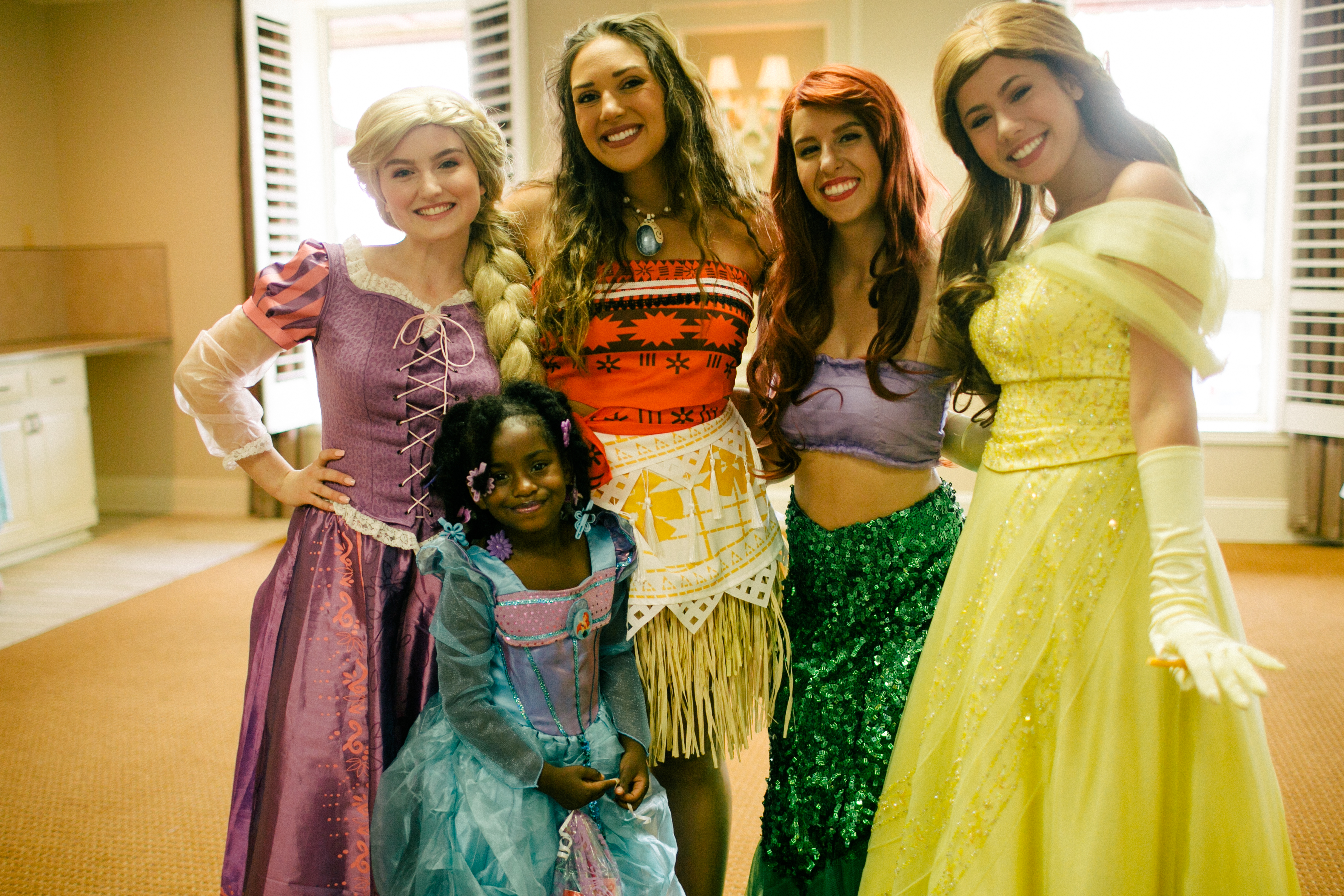 4 princesses