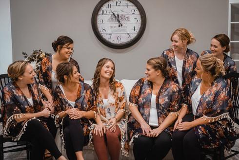 Kristi & Bridesmaids 2019