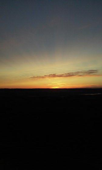 Sunrise at Mars Hill Maine