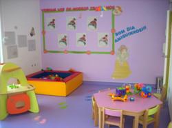 Sala dos 1-2 anos