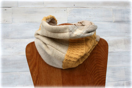 All wool scarf, merino lined.