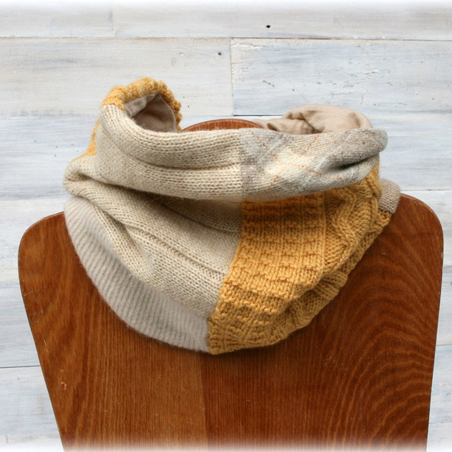 All wool boundry scarf.