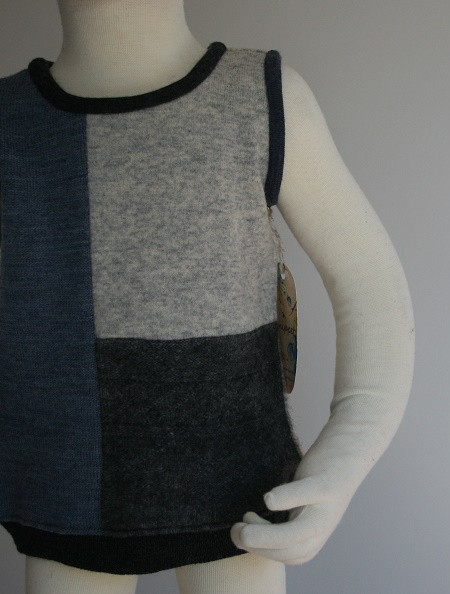 Patch Wool Vest $48
