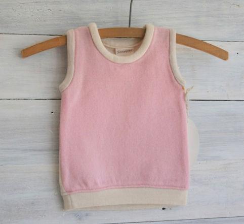 Round Neck Wool Vest $40
