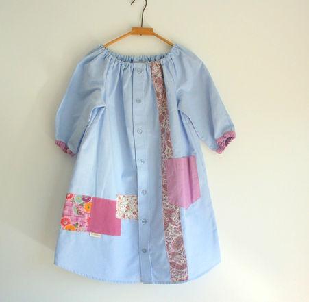 Peasant Shirt Dress $58