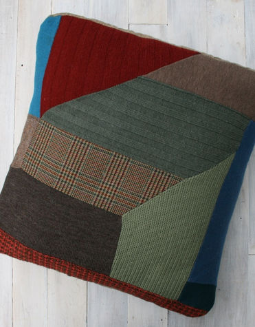 Large patch cushion $135