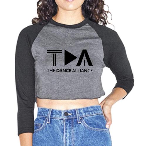 TDA Crop Top Tri-blend