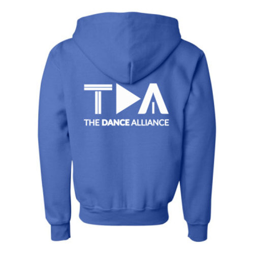 TDA Hoodie Full Zip  - Youth (+colours)