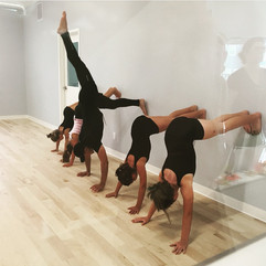 The Dance Alliance Acro Class