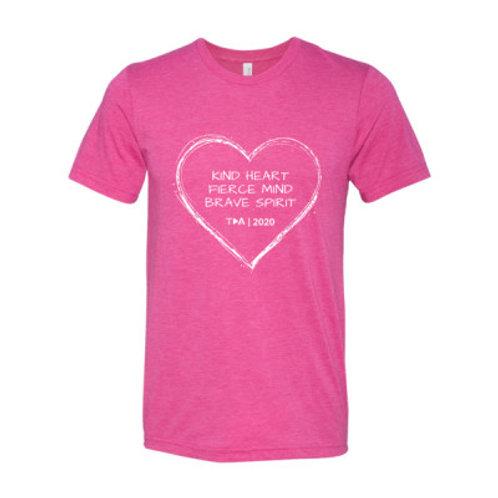 TDA T-shirt Triblend - Adult - (+colours)