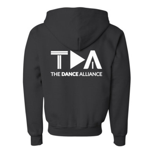 TDA Hoodie Full Zip - Ladies