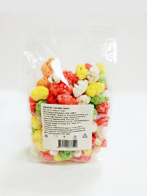 Арахис в цветном сахаре