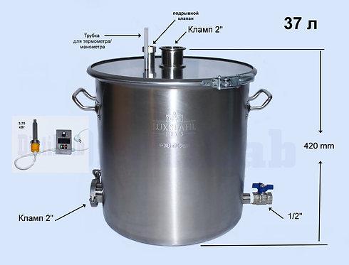 Бак 37л +ТЭН 3,75 кВт блоком управления мощностью