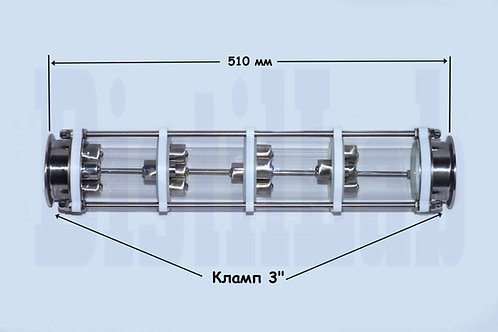 «Оптик» - 3 дюйма (4 тарелки)  AISI 304