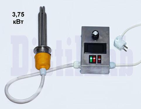 Блок ТЭНов 3,75 (3*1,25) кВт блоком управления мощностью