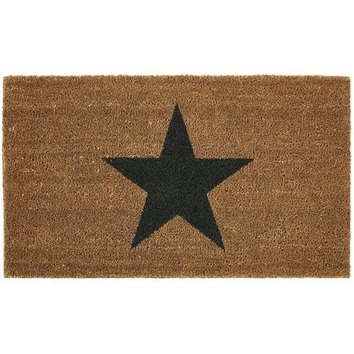 My Mat Printed Coir Doormat Star