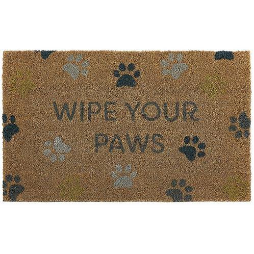 My Mat Printed Coir Doormat Wipe Your Paws